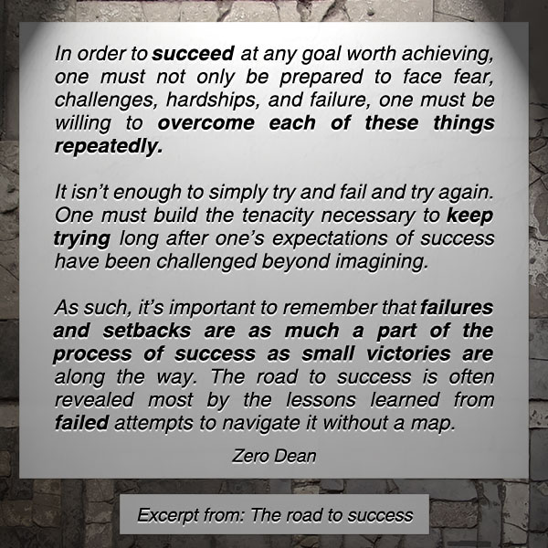 ones-unique-road-to-success-zerosophy-zero-dean